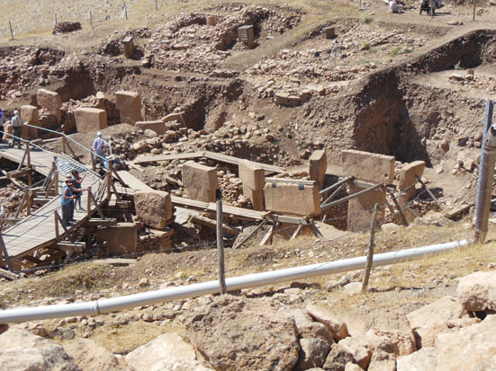 Göbekli Tepe In Southeast Turkey (Pic: Andrew Collins)