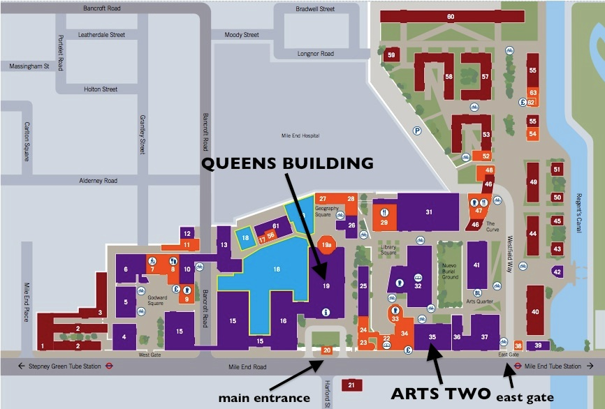 Hotels Near Queen Mary Mile End Campus